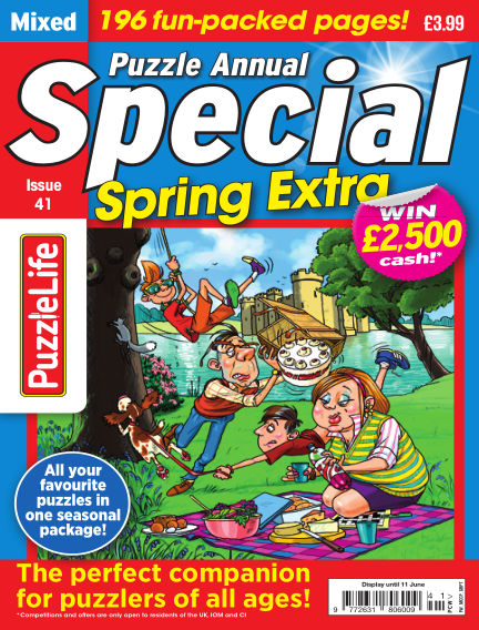 PuzzleLife Puzzle Annual Special May 21, 2020 00:00
