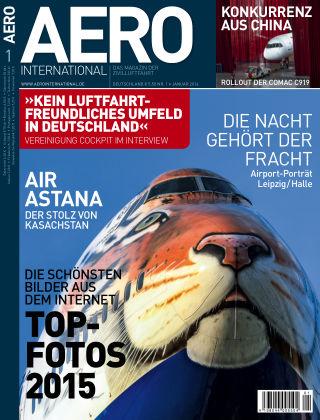 AERO INTERNATIONAL Nr. 1 2016