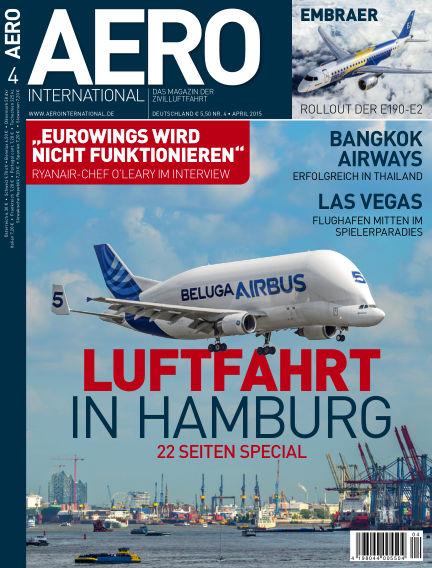 AERO INTERNATIONAL March 09, 2016 00:00