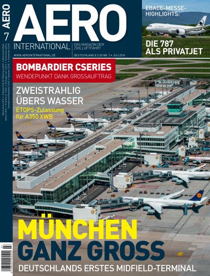 AERO INTERNATIONAL June 15, 2016 00:00