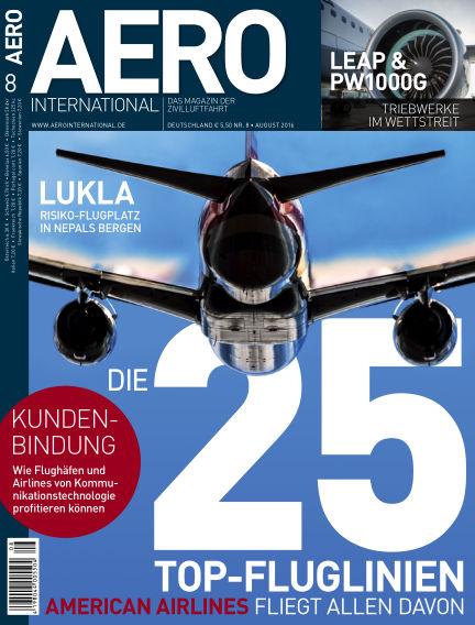 AERO INTERNATIONAL July 13, 2016 00:00