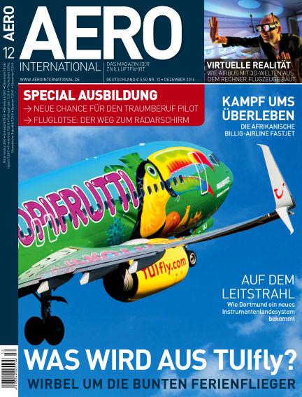 AERO INTERNATIONAL November 09, 2016 00:00