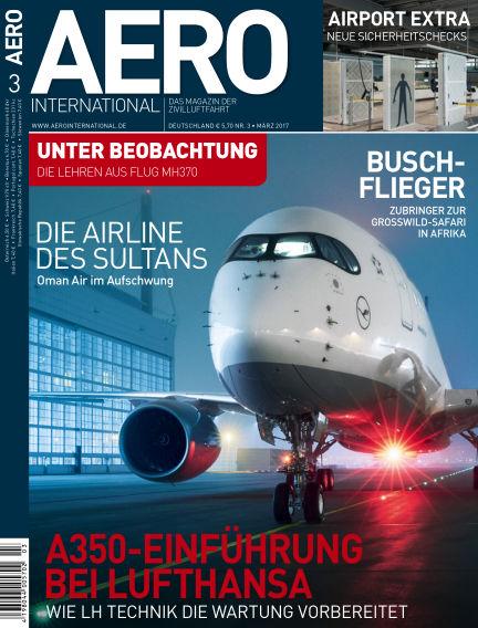 AERO INTERNATIONAL February 15, 2017 00:00