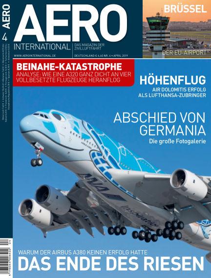 AERO INTERNATIONAL March 12, 2019 00:00