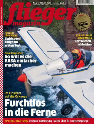 fliegermagazin Nr. 2 2016