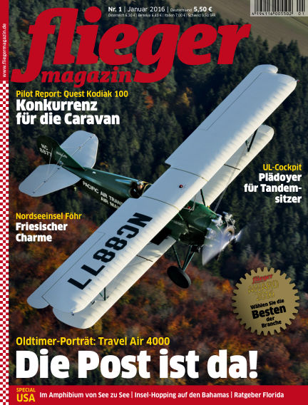 fliegermagazin December 15, 2015 00:00