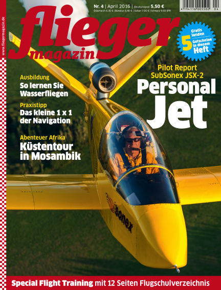 fliegermagazin March 16, 2016 00:00