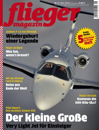 fliegermagazin NR. 05 2016