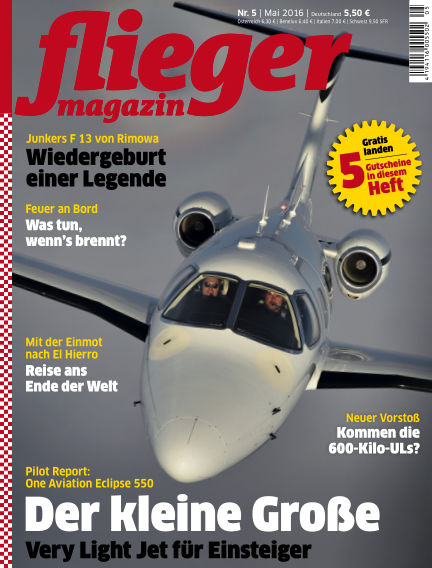 fliegermagazin April 13, 2016 00:00