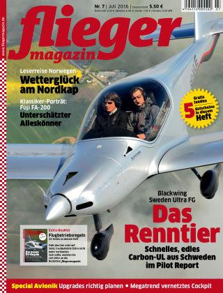 fliegermagazin Nr. 07 2016