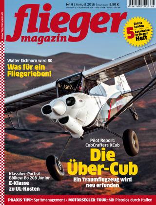 fliegermagazin NR. 08 2016