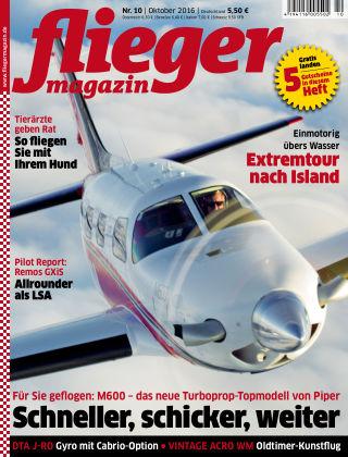 fliegermagazin Nr. 10 2016