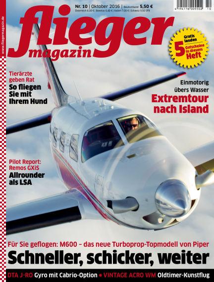 fliegermagazin September 21, 2016 00:00