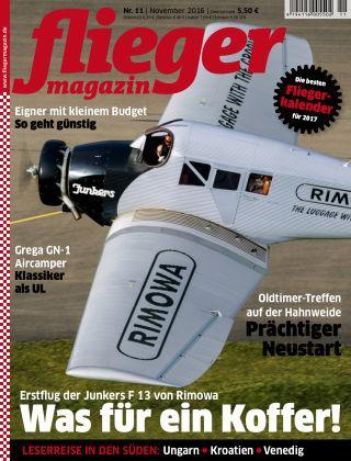 fliegermagazin NR. 11 2016
