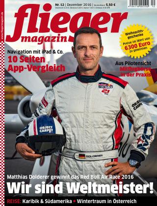 fliegermagazin NR. 12 2016