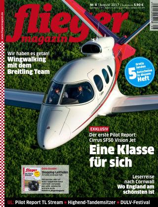 fliegermagazin Nr. 08 2017