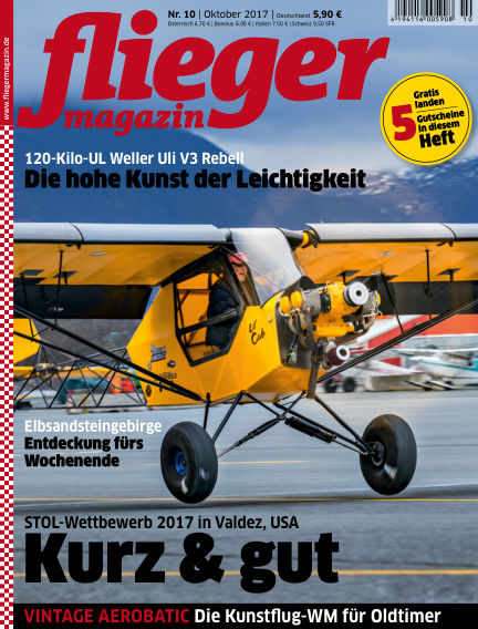 fliegermagazin September 20, 2017 00:00