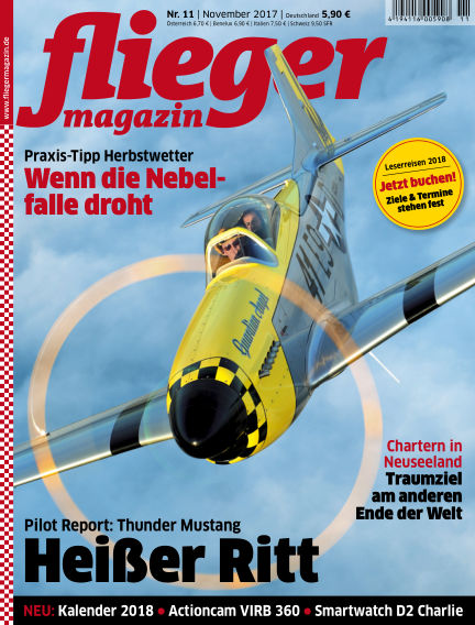 fliegermagazin October 25, 2017 00:00