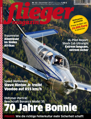 fliegermagazin NR. 12 2017