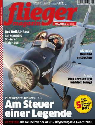 fliegermagazin NR. 06 2018