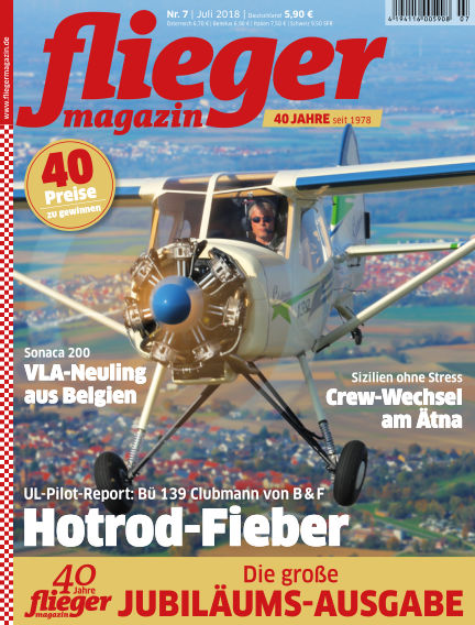 fliegermagazin June 19, 2018 00:00