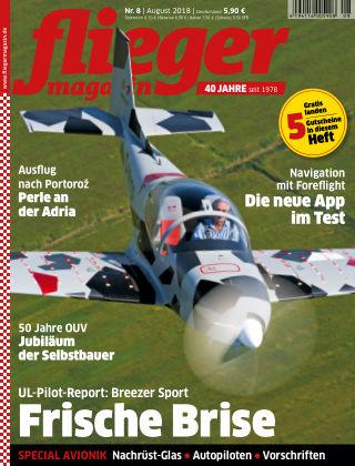 fliegermagazin NR. 08 2018