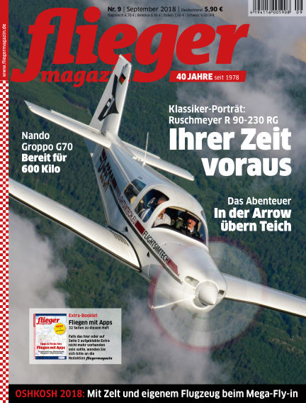 fliegermagazin August 21, 2018 00:00