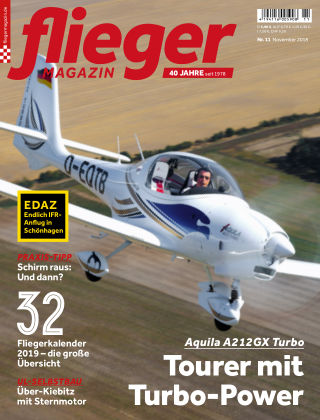 fliegermagazin NR. 11 2018