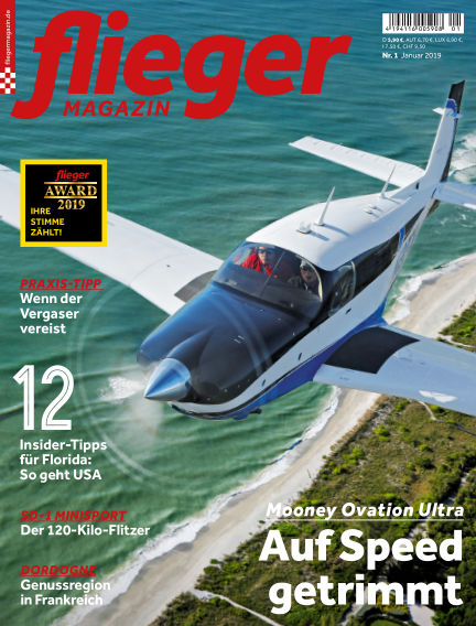 fliegermagazin December 18, 2018 00:00