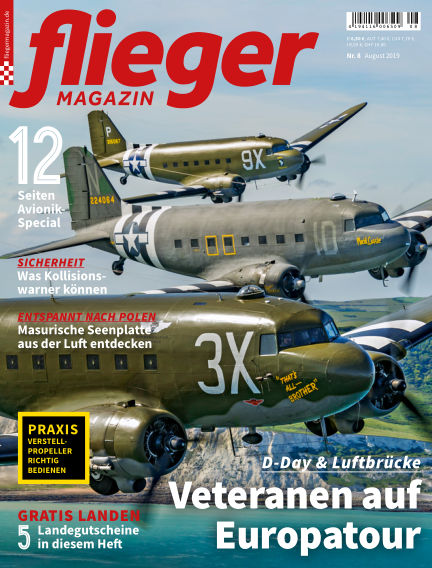 fliegermagazin July 23, 2019 00:00