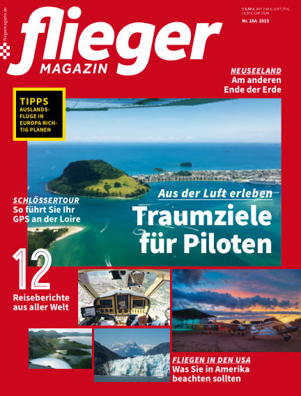 fliegermagazin September 10, 2019 00:00
