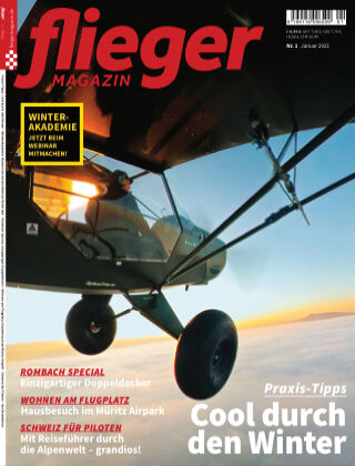 fliegermagazin NR. 01 2021