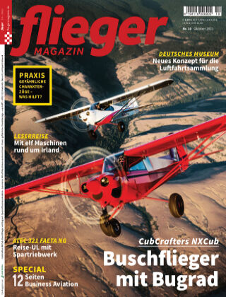 fliegermagazin NR. 10 2021