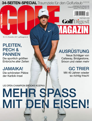 GOLF MAGAZIN NR. 12 2017