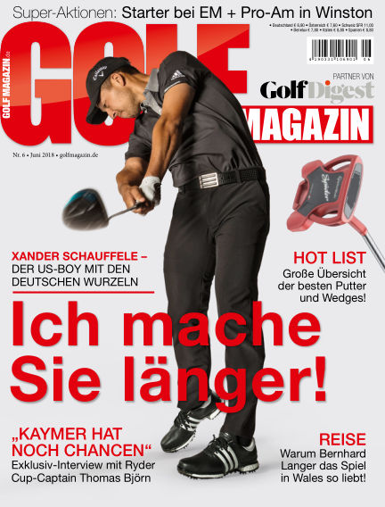GOLF MAGAZIN May 30, 2018 00:00