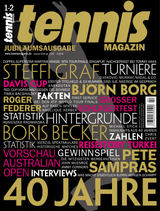 tennis MAGAZIN Nr. 1 2016