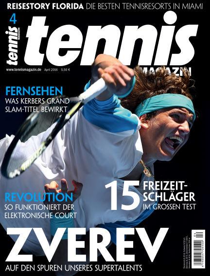 tennis MAGAZIN March 18, 2016 00:00