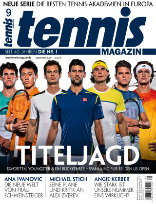 tennis MAGAZIN NR. 09 2016