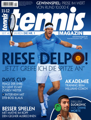 tennis MAGAZIN NR. 11 12 2016