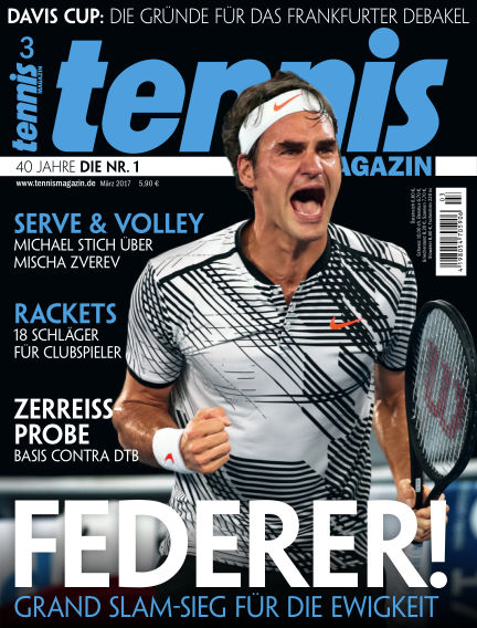 tennis MAGAZIN February 17, 2017 00:00