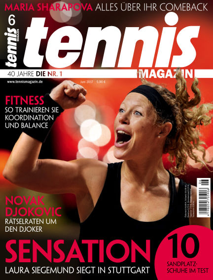 tennis MAGAZIN May 19, 2017 00:00