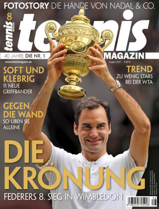 tennis MAGAZIN NR. 08 2017