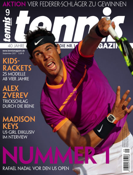 tennis MAGAZIN August 25, 2017 00:00