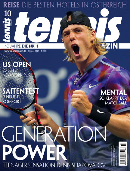 tennis MAGAZIN September 22, 2017 00:00