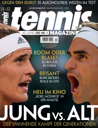 tennis MAGAZIN Nr. 11-12 2017