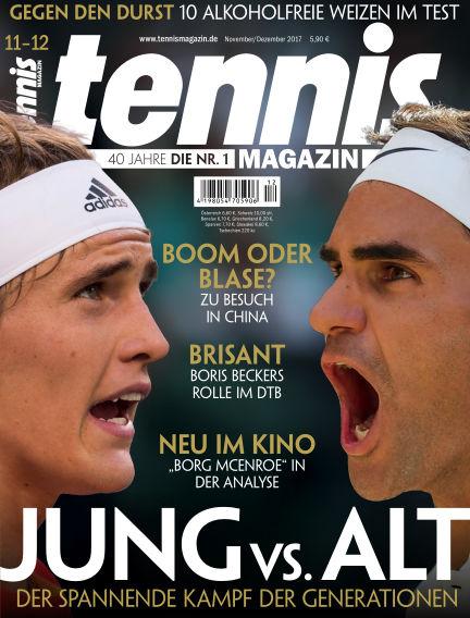 tennis MAGAZIN October 27, 2017 00:00