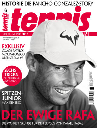 tennis MAGAZIN Nr. 6 2018
