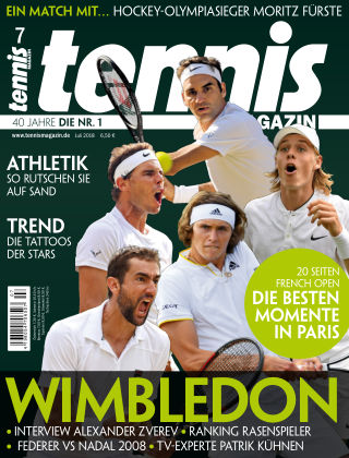 tennis MAGAZIN NR. 07 2018