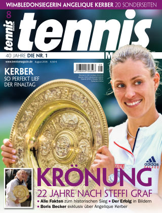 tennis MAGAZIN Nr. 8 2018