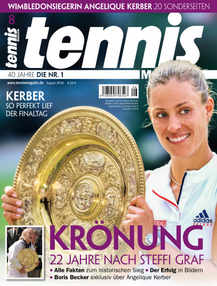 tennis MAGAZIN July 26, 2018 00:00